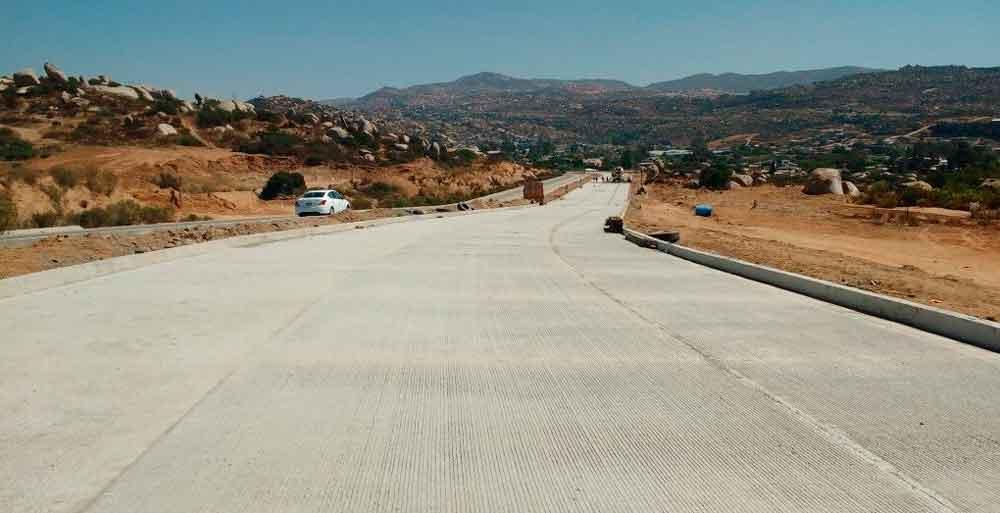 Avanza Gobierno de BC con los trabajos de ampliación de Bulevar Encinos