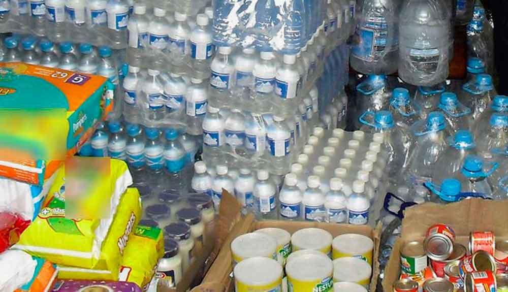 Ropa, colchonetas, cobijas, aguas y desechables serán resguardados en DIF Tijuana hasta nuevo aviso