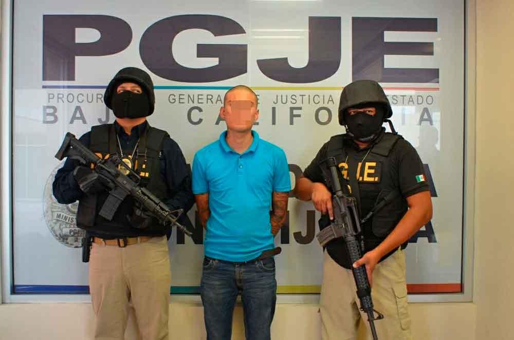 Capturan en Tijuana a presunto implicado en el robo al restaurante La Espadaña
