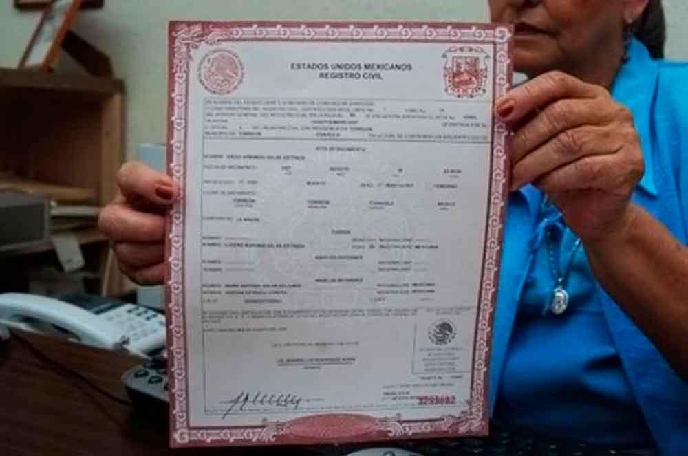 Ya podrás obtener tu acta de nacimiento por internet en Baja ...