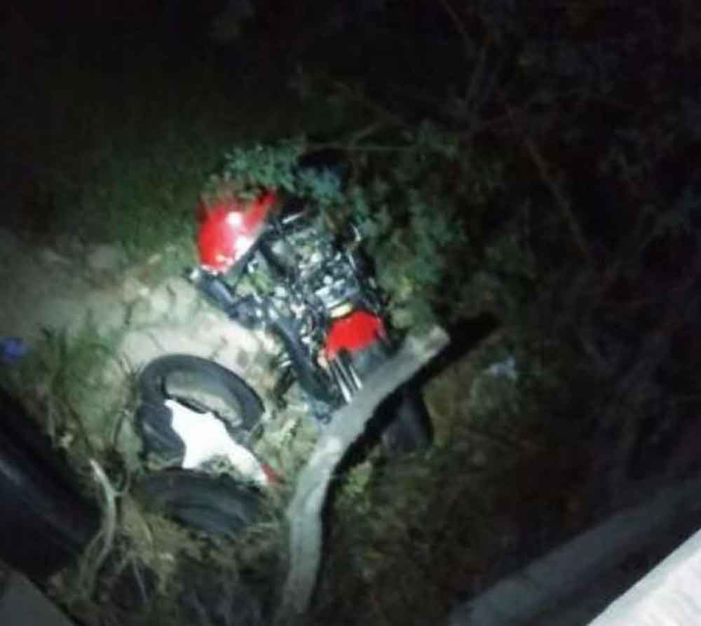 Fuerte choque provocó la muerte de una pareja de motociclistas en Tijuana