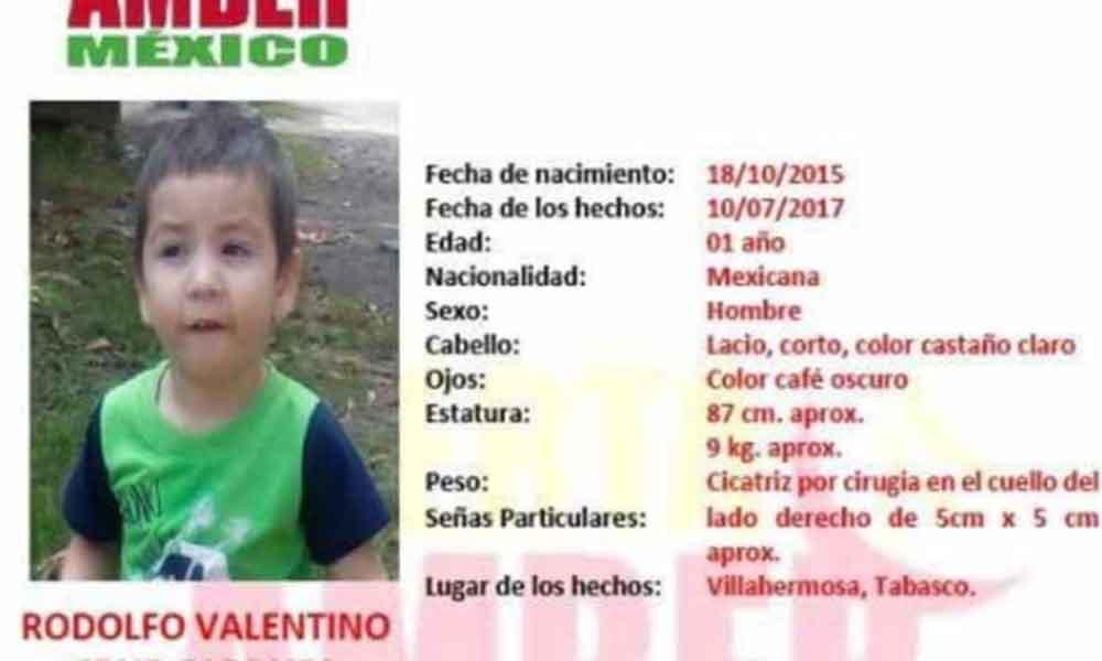 Localizan en Tijuana a bebé secuestrado en Tabasco