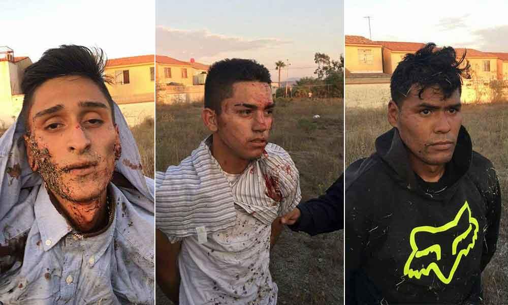 Policía frustra asalto a tienda Coppel en Tijuana; tres jóvenes capturados