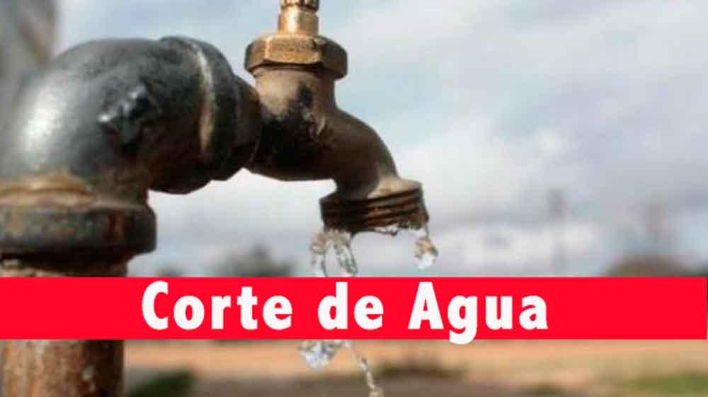 ¡Atención! Habrá corte de agua en 17 colonias de Tijuana