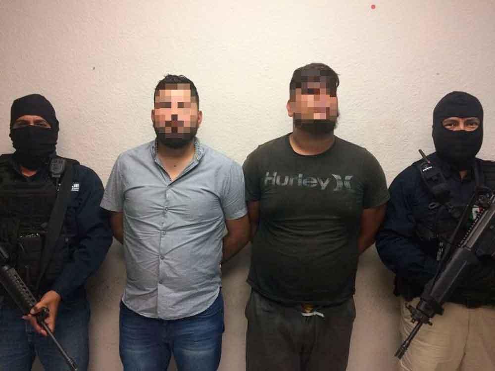 Capturan en Tijuana a sujetos por triple homicidio