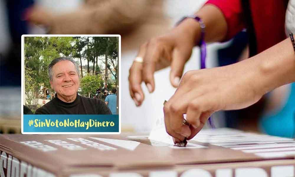 """Busca Regidor Independiente desde Tecate reducir presupuesto de los partidos políticos con """"Sin Voto No Hay Dinero"""""""
