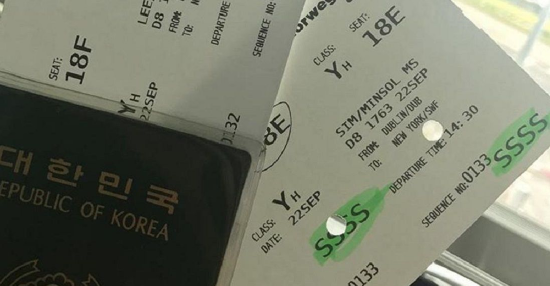 La Mala noticia del código 'SSSS' en tu boleto de avión