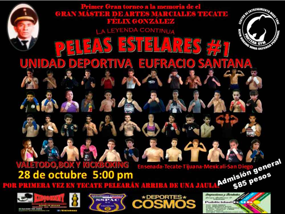Se realizará en Tecate el Primer Torneo de Artes Marciales