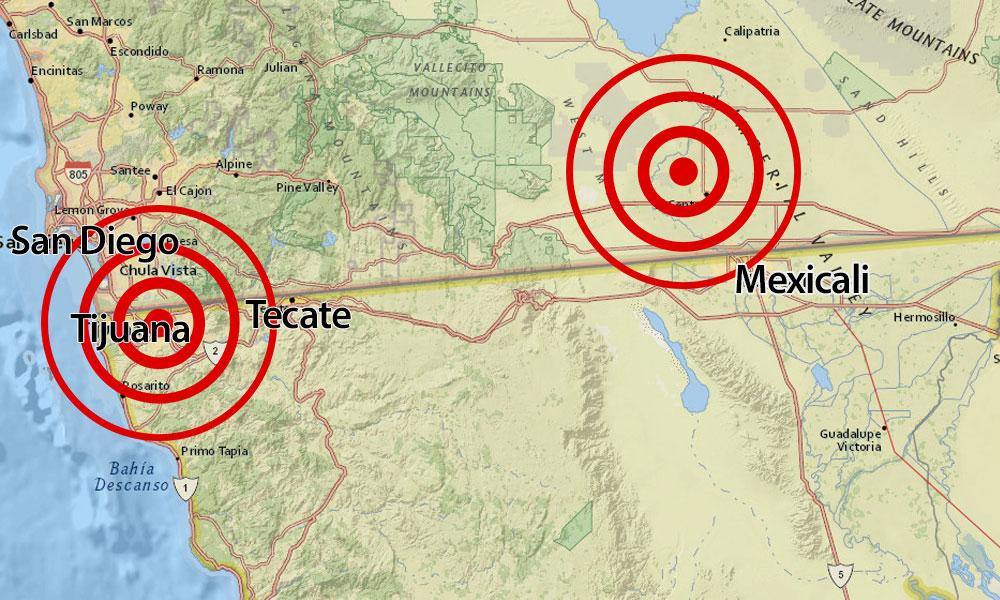 Se registran dos sismos en la región esta madrugada