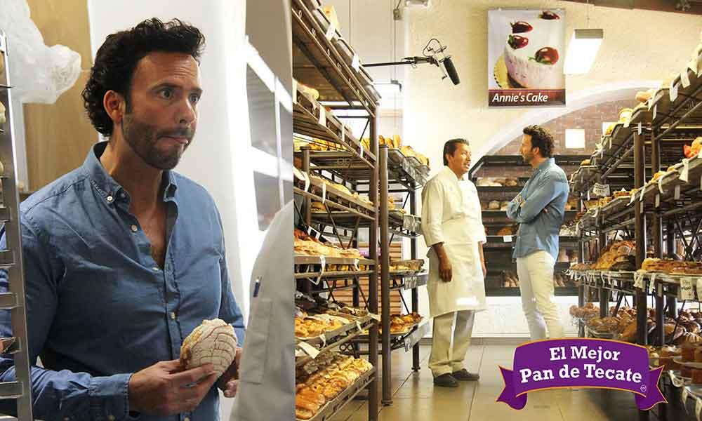 Chef Oropeza visita panadería de Tecate