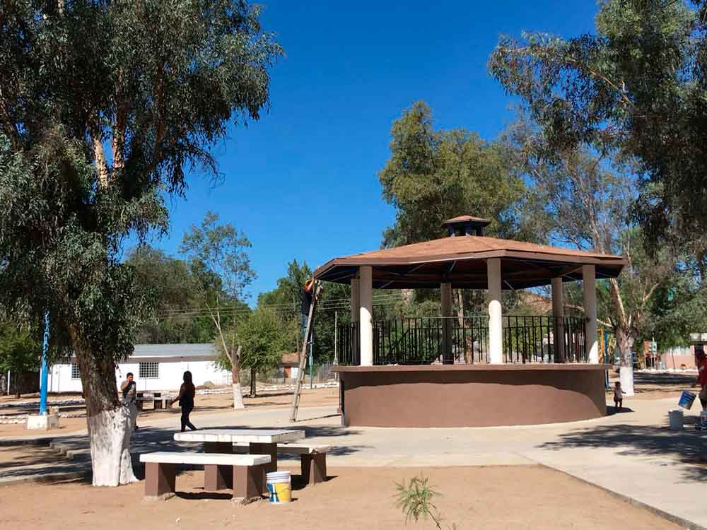 Recuperan y rehabilitan el parque de El Testerazo