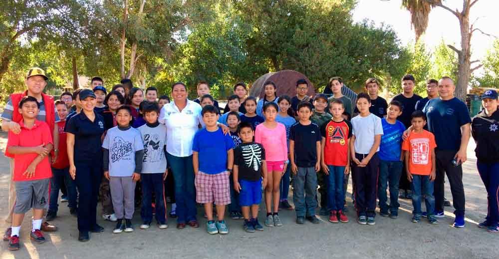 Alcaldesa reconoce trabajo y dedicación de la Patrulla Juvenil de Tecate