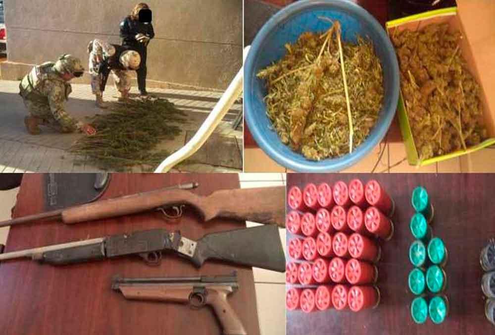 Tras denuncia ciudadana, decomisan armas, droga y municiones en Tecate
