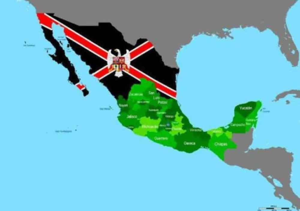 """Piden la independencia de """"México del Norte"""""""
