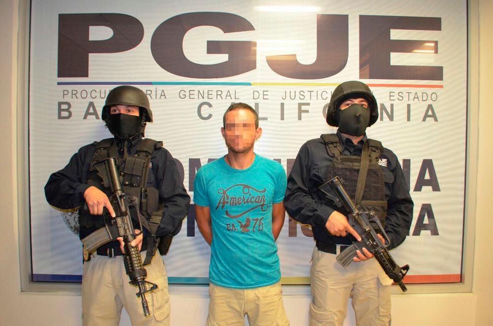 Capturan a asaltabancos en Tijuana