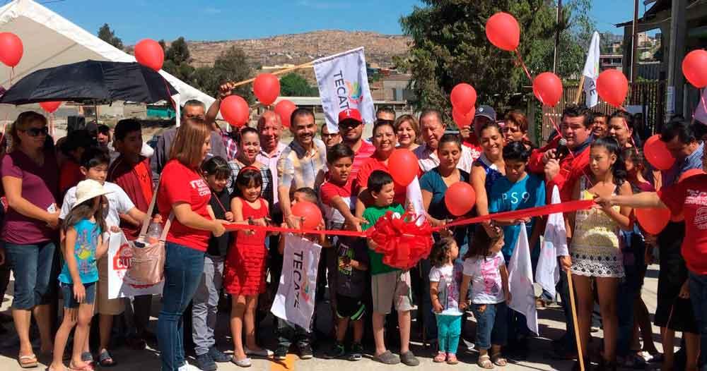 Ayuntamiento entregó obras de pavimentación de las calles Río Yaqui, Río Colorado y Santa María