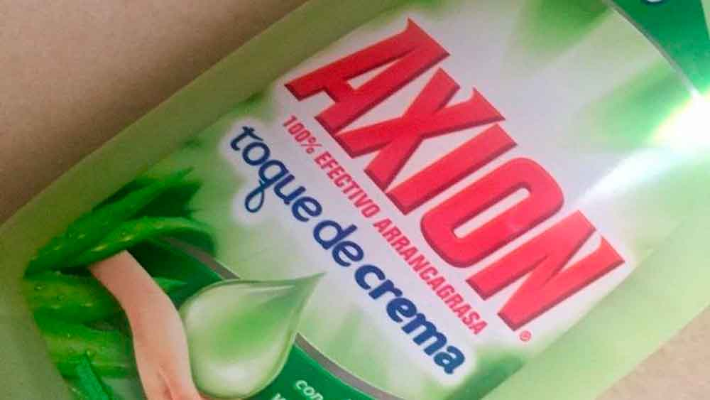 "Profeco retira jabón lavatrastes ""Axión"" por contener bacterias; emiten alerta"