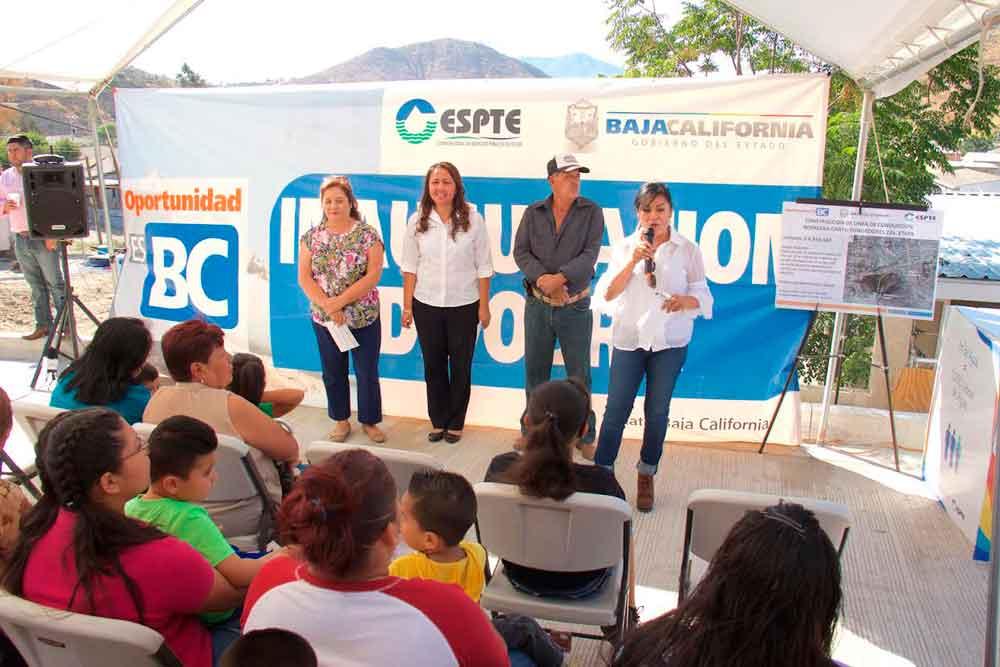 Inaugura CESPTE línea de agua potable en beneficio de más de 28 mil tecatenses