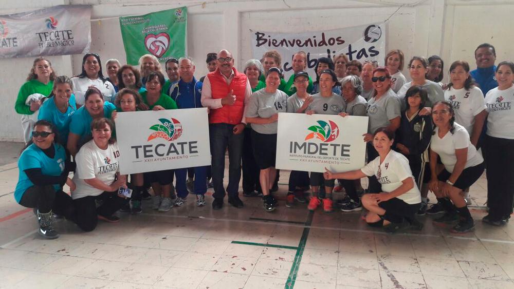 Imdete realiza cuadrangular de cachibol para celebrar el 125   aniversario de Tecate