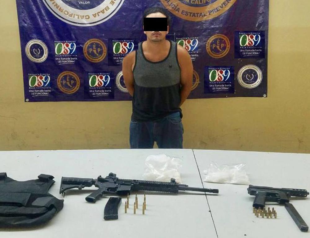Capturan en Tijuana a presunto integrante del Cártel de Jalisco