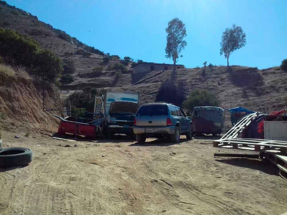 Durante operativo en Tijuana recuperan 14 vehículos robados