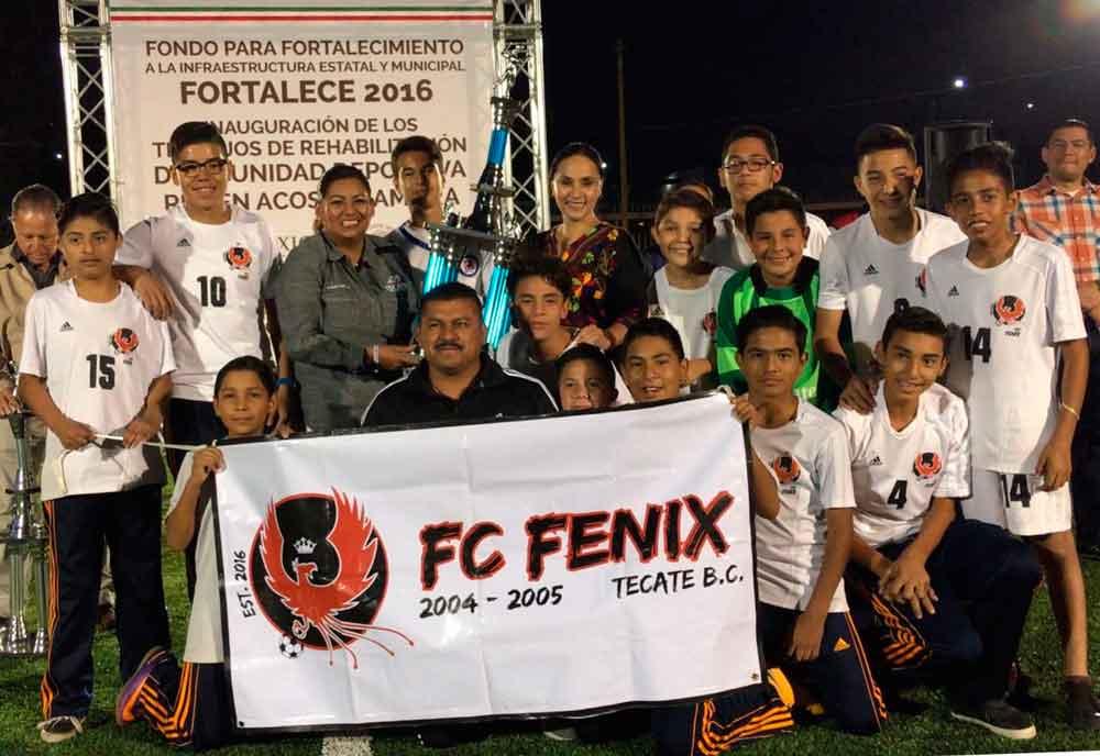 Ayuntamiento entregó la Unidad Deportiva Infantil Rubén Acosta