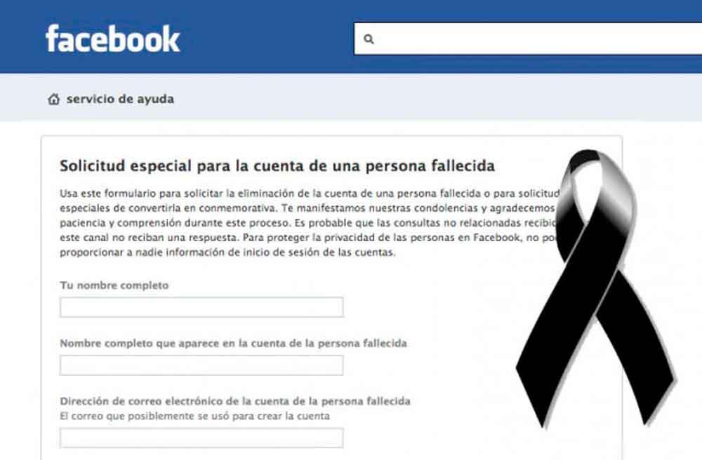 ¿Sabes qué hacer con su perfil de Facebook, si un familiar o un amigo fallece?