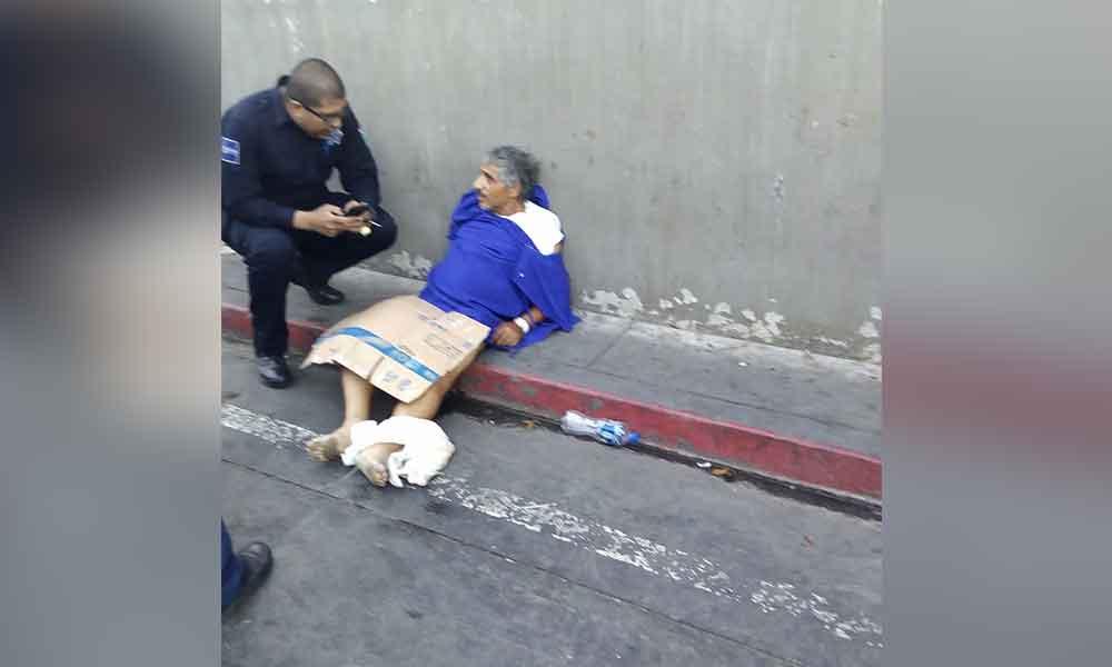 Hombre fue sacado del Hospital General de Tijuana y abandonado en la calle