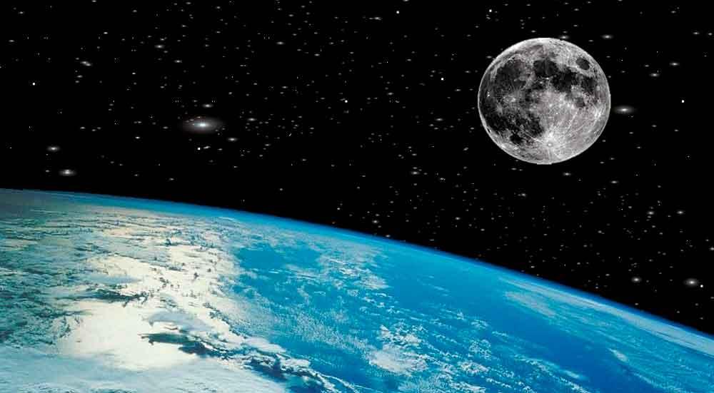 Hallan cueva gigante en la Luna capaz de sostener vida