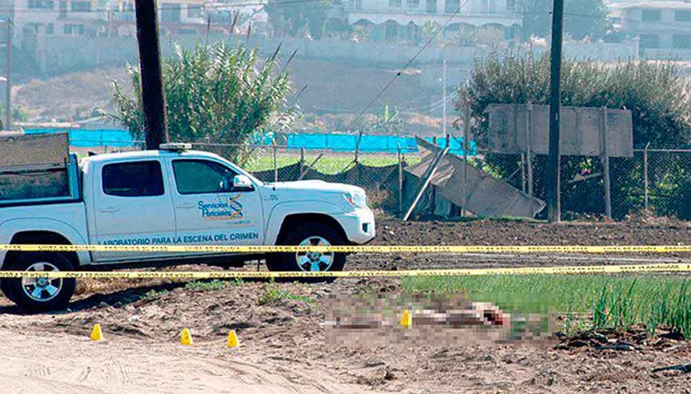 Ocho personas ejecutadas en un día en Ensenada