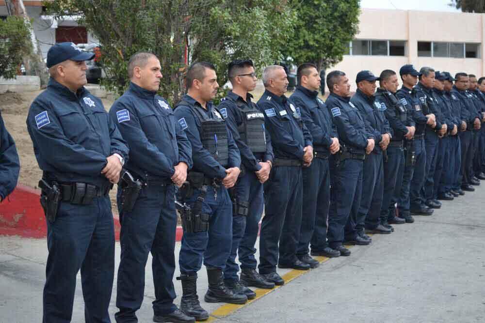 Realizan pase de revista a oficiales de Seguridad Ciudadana