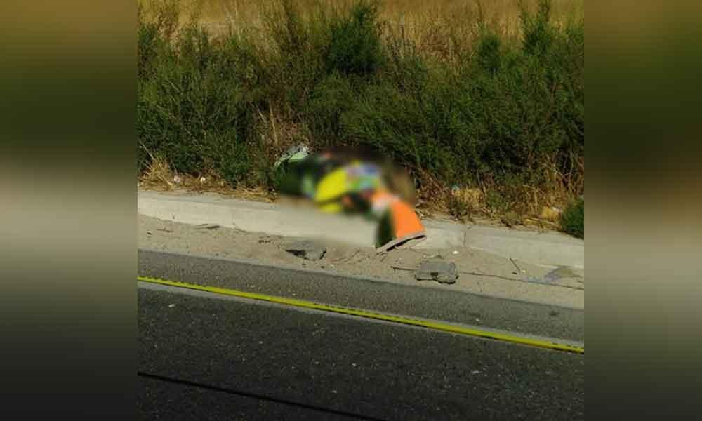 Localizan encobijado en carretera Tijuana-Tecate