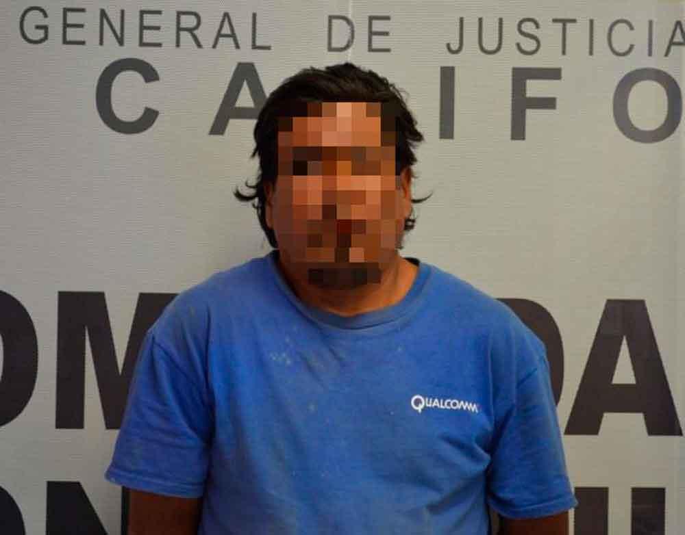 Atacó a un perro con un machete en Tijuana; lo capturan por maltrato animal