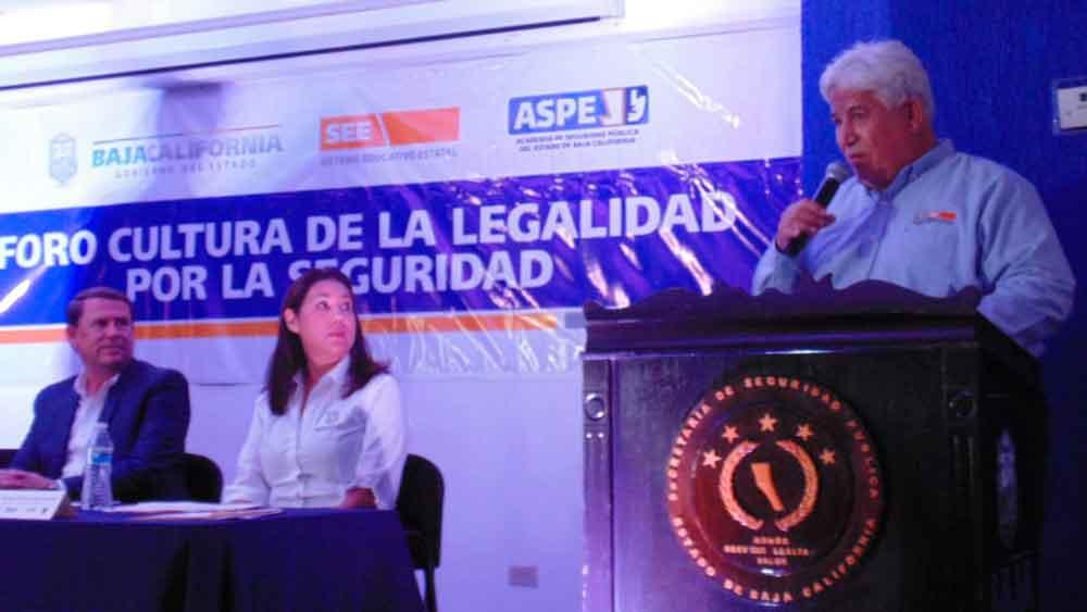 Organiza SEE Foro de la Legalidad por la Seguridad