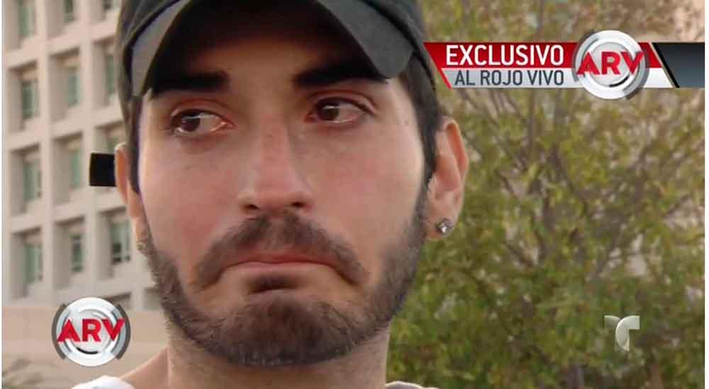 Hijo de Eduardo Yáñez rompe en llanto y confiesa que tuvo un enfrentamiento físico con su padre