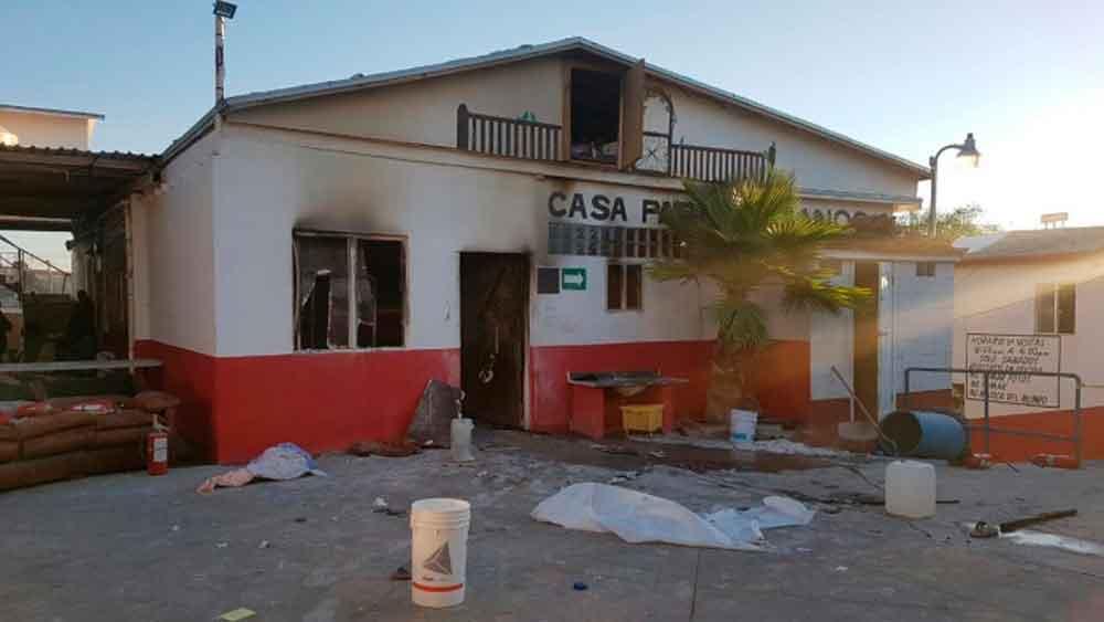 Mueren seis ancianos tras incendio de asilo en Tijuana