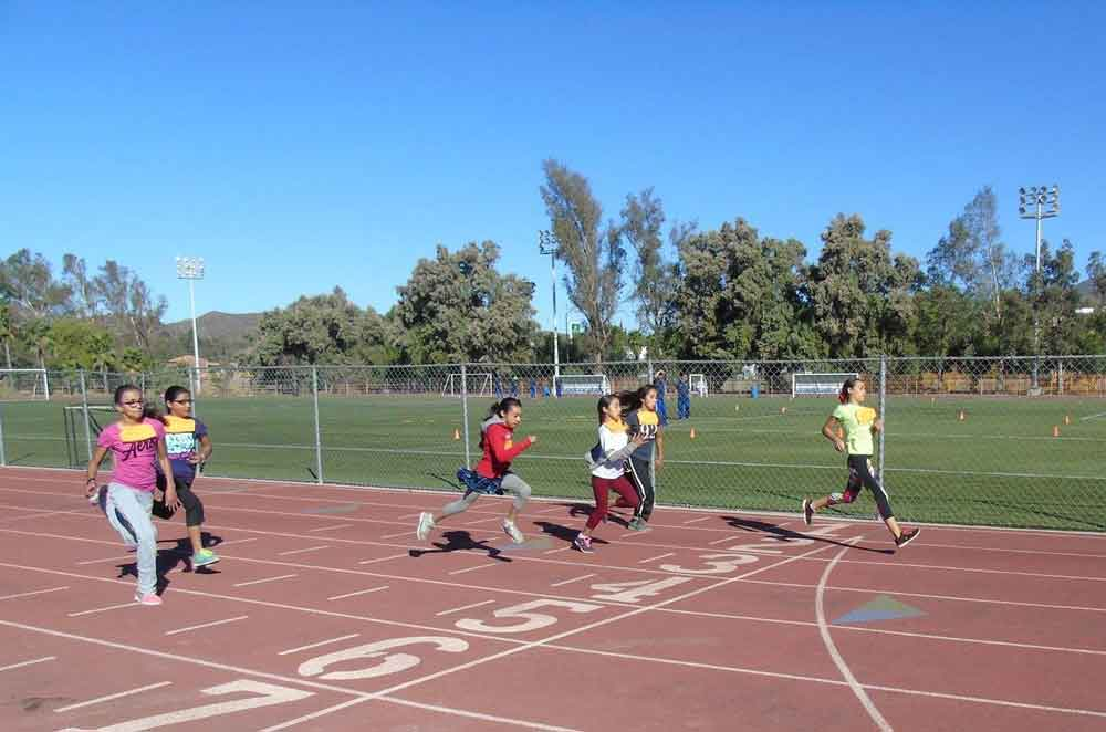 Realiza SEE municipal de atletismo