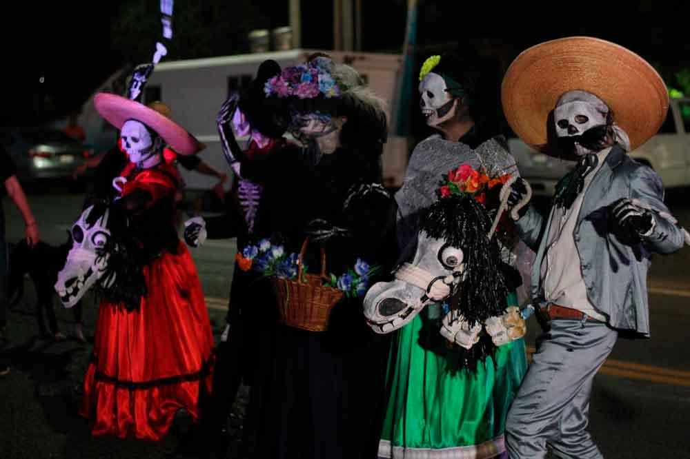Da inicio el 17 Festival del Día de Muertos