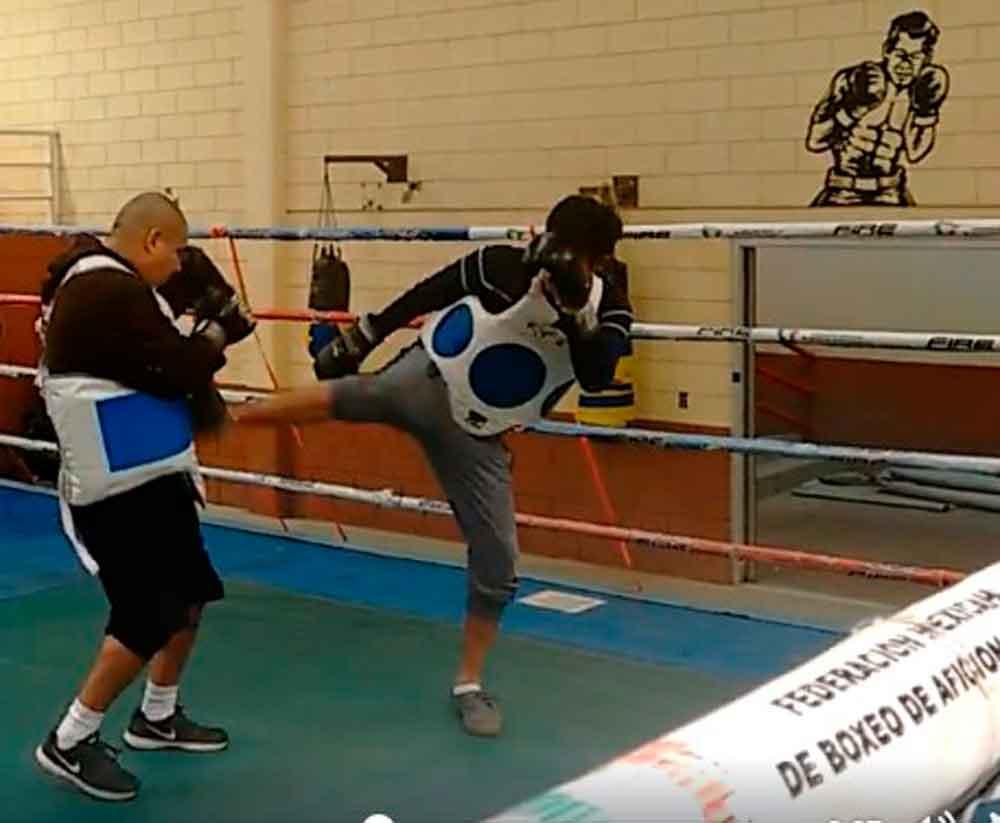 Imparte IMDETE clases de box, kickboxing y artes marciales