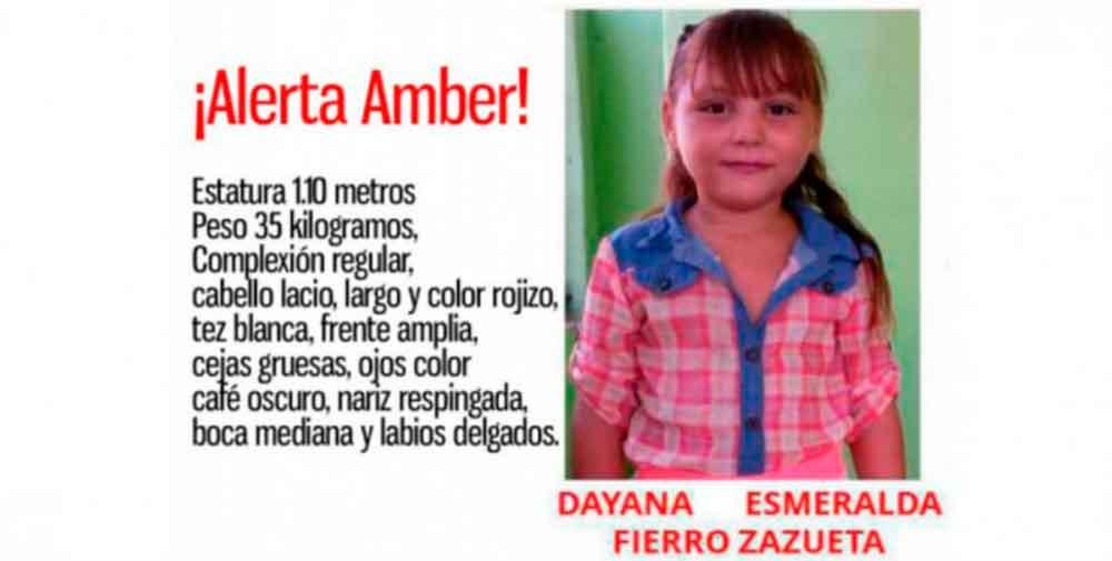 Encuentran sin vida a la pequeña Dayana, raptada hace cinco meses