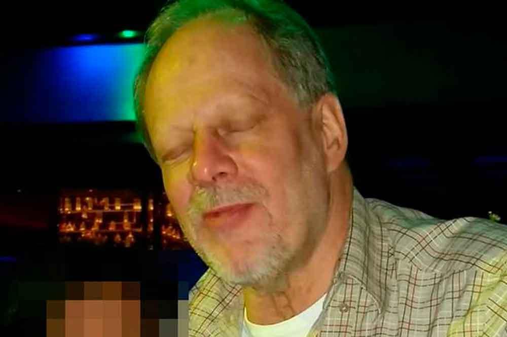Difunden foto de asesino de Las Vegas muerto