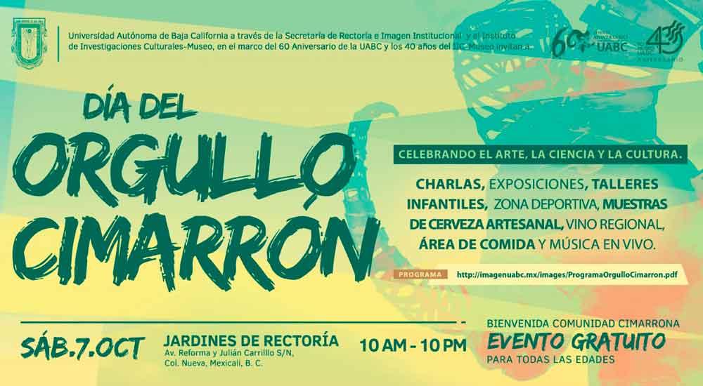 Invita UABC al Día del Orgullo Cimarrón