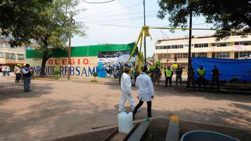 SEP cancela licencia del colegio Rébsamen