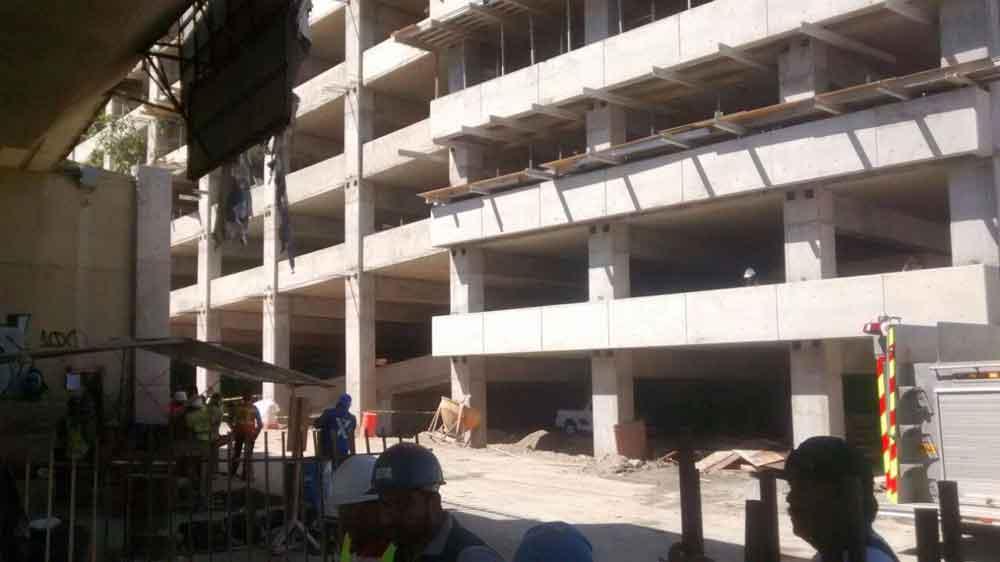 Muere albañil tras caer de séptimo piso de un edificio en construcción en Tijuana
