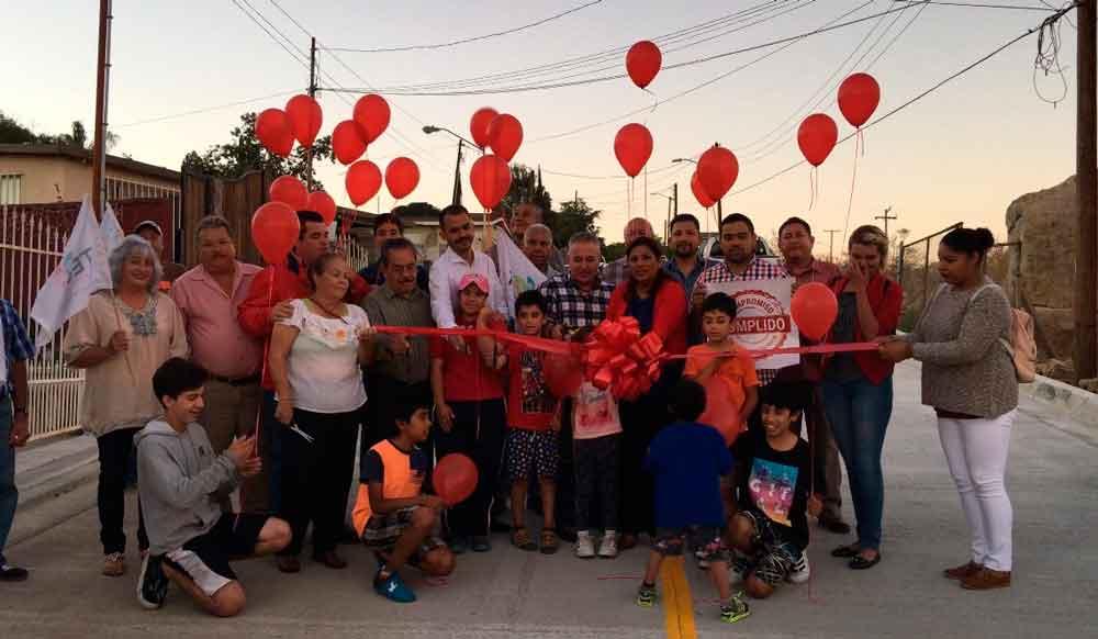 Se inauguró otra importante arteria vial en Tecate