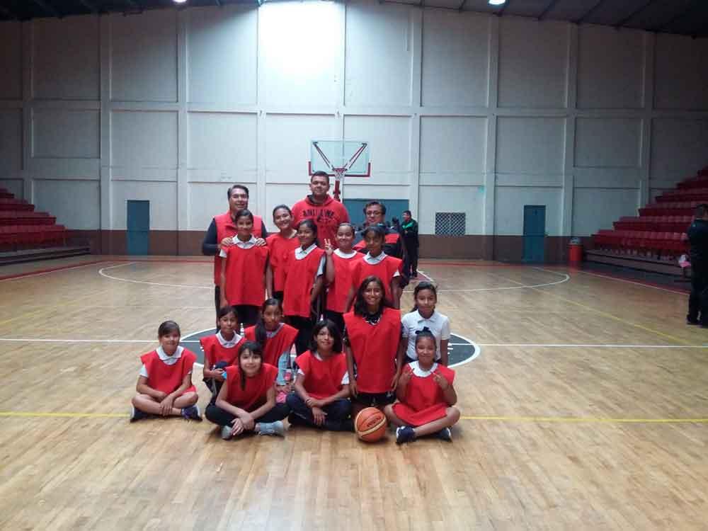 Realizan SEE Tecate municipal de basquetbol