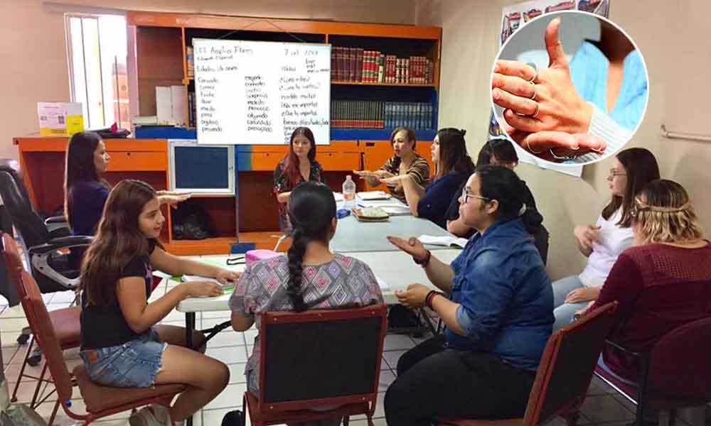 Inicia clase de Lengua de Señas Mexicana en el CEAD Tecate: Lic. Marina Calderón