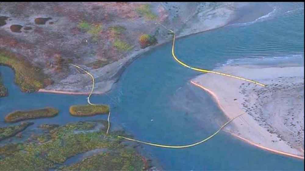 Derrame de petróleo en Bahía de San Diego podría llegar a Tijuana