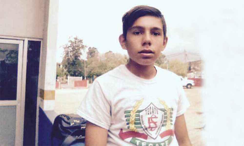 Joven de Tecate se encuentra desaparecido
