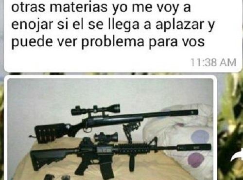 Alumno amenaza a profesora para que lo apruebe en Paraguay
